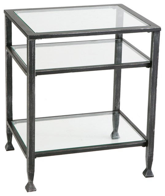 Metal End Table : Guthrie Metal End Table - Industrial - Side Tables And End Tables - by ...