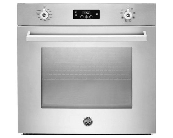 "Bertazzoni 30"" Professional Single Electric Wall Oven, Stainless 
