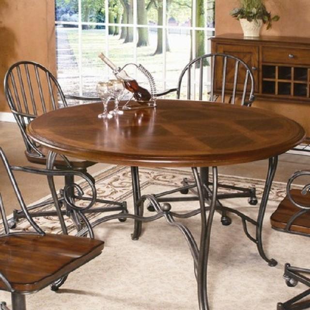 Bassett Mirror Windsor Round Dining Table D1369 701b