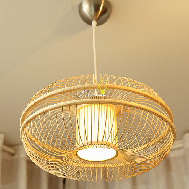 Simple Bamboo Pendant Lighrting Contemporary