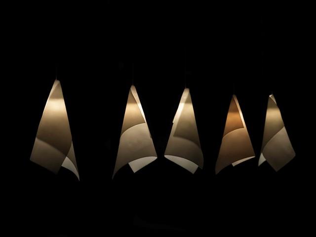 Arum. Porcelain Pendant. contemporary-pendant-lighting