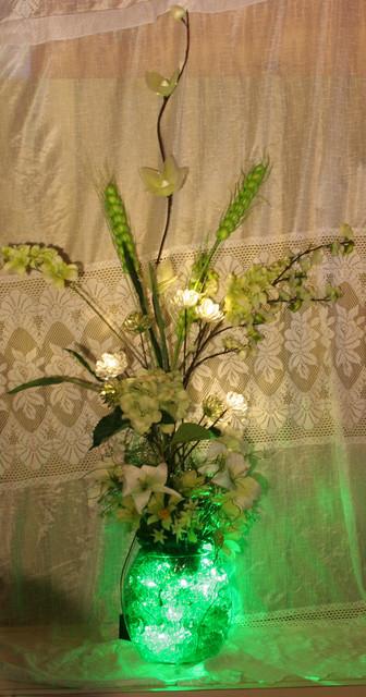 Faux Floraluminations eclectic