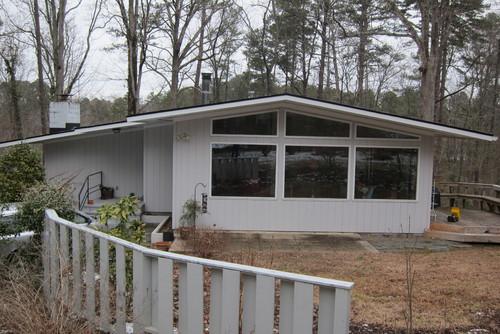 Mid century modern exterior paint scheme for Mid century modern exterior house paint colors