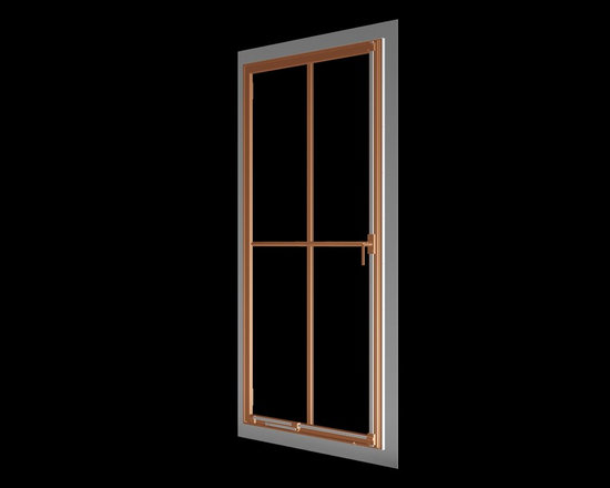 Renaissance Solid Bronze Window - Renaissance solid bronze casement window with nail mounting flange replicating old world craftsmanship, with narrow sightlines, factory glazing, and cremone bolt locking system.  http://solidbronzewindows.com/
