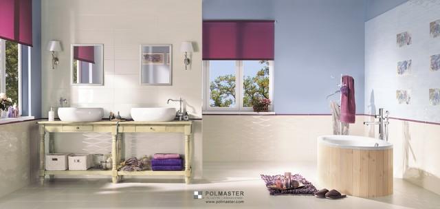 CHIARA TILE COLLECTION contemporary-bathroom