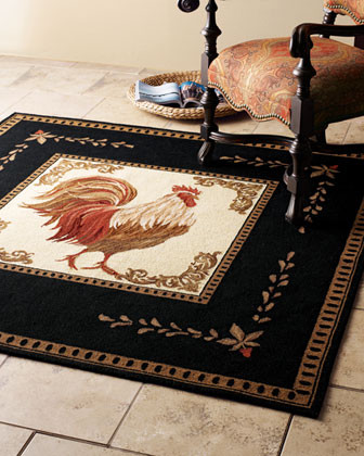 6' Round Rug traditional-rugs