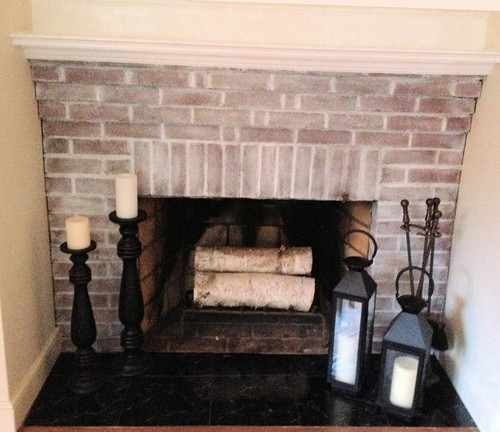 POLL White Wash Brick Fireplace Yes Or No