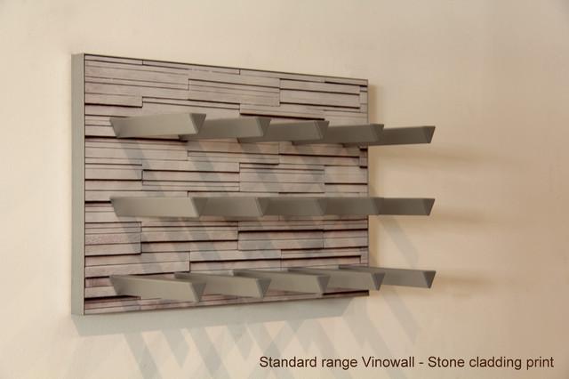 Vinowall Modular Wall Mounted Wine Racks Contemporary