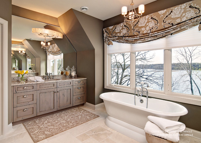 Our Home on the 2012 Parade of Homes contemporary bathroom
