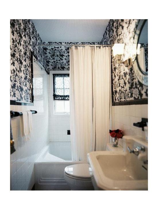 Vintage Bathroom Wallpaper Home Design Ideas Pictures