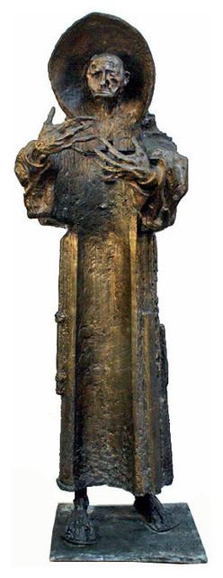 A Monumental Bronze Sculpture by Pablo Serrano, Spanish, b. 1908 home-decor