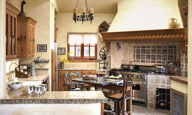 French Country Cottage traditional-kitchen