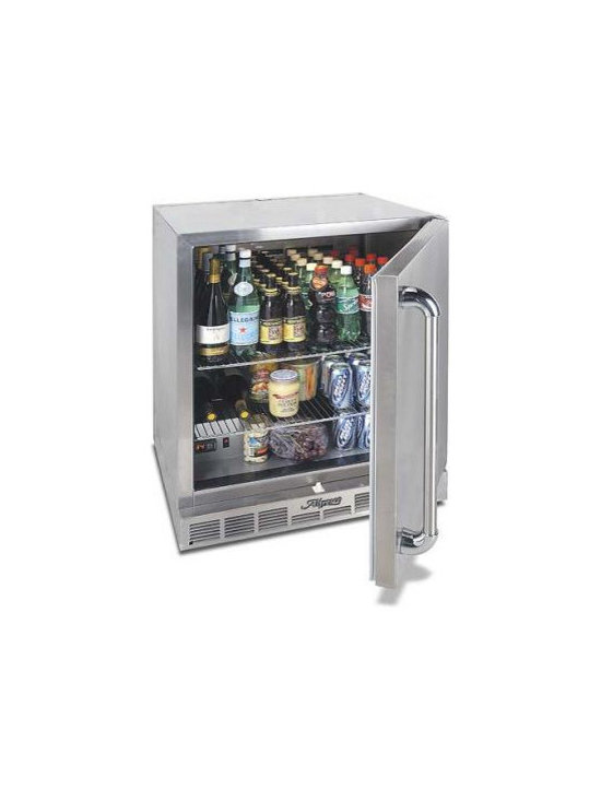 """Alfresco 28"""" All-weather Refrigerator, Stainless Steel 