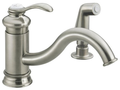 Kohler Fairfax Faucet Traditional Kitchen Faucets Other Metro By Rebekah Zaveloff