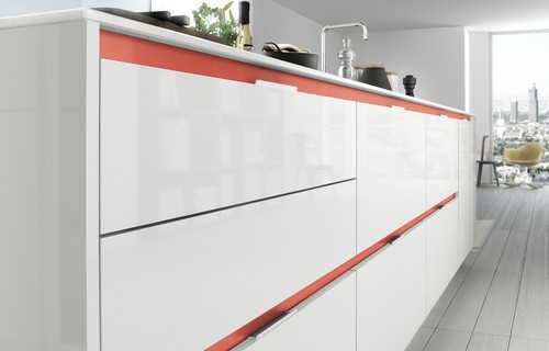 These aren't your Grandma's cabinets! Meet today's chic new breed of kitchen storage.