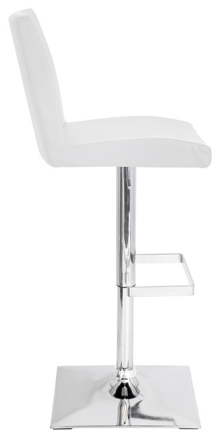 Captain Bar Stool White Contemporary Bar Stools And