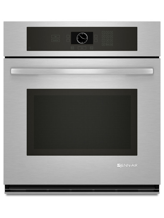 "Jenn-Air 27"" Single Electric Wall Oven, Stainless/blk 
