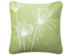 Papyrus Floral Throw Pillows modern-decorative-pillows