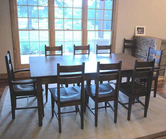 Hickory dining room furniture dining room houston by shaka studios american furniture - Dining room chairs houston ...