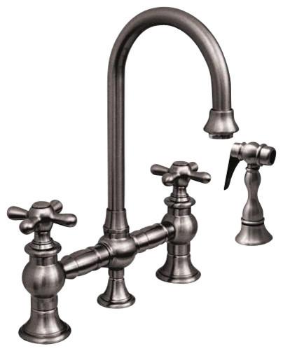Whitehaus Whkbcr3-9106-Orb Bridge Faucet contemporary-kitchen-faucets