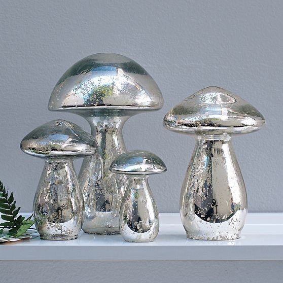 Mercury Mushrooms Modern Home Decor By West Elm
