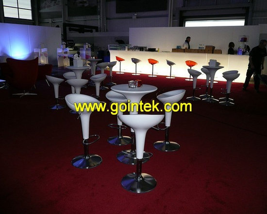 glowing led stool for  bar -