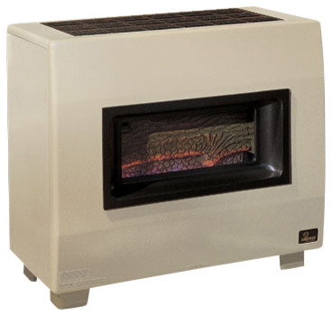 Visual Flame Room Heater RH65BNAT Natural Gas Modern Fireplaces By Sh