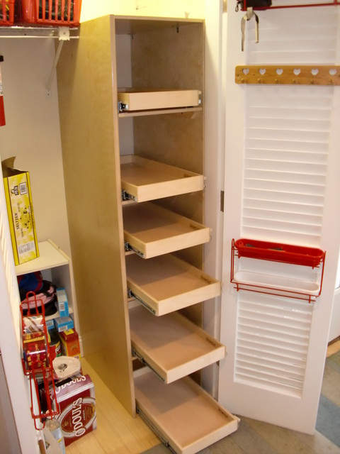 Pantry Pull Out Shelving -pantry
