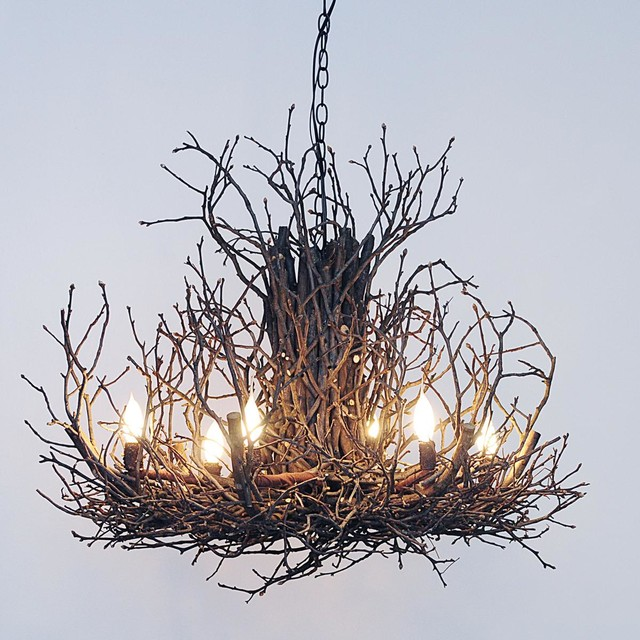 Twig Chandelier 6 Light Small Chandeliers By Shades