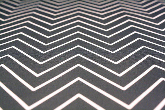 Upholstery Fabric, Delicate Charcoal Chevron by New Mom Designs modern-upholstery-fabric