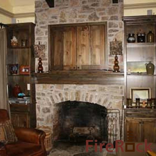 FireRock Indoor Products traditional-living-room