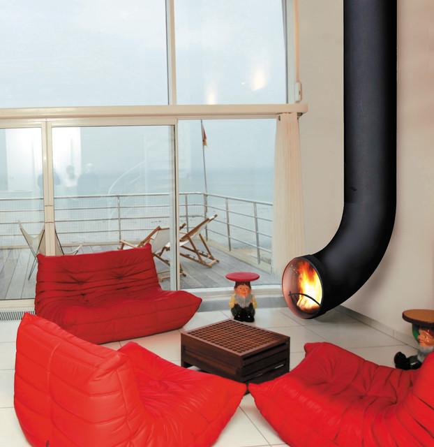 Renzofocus Mural contemporary-living-room
