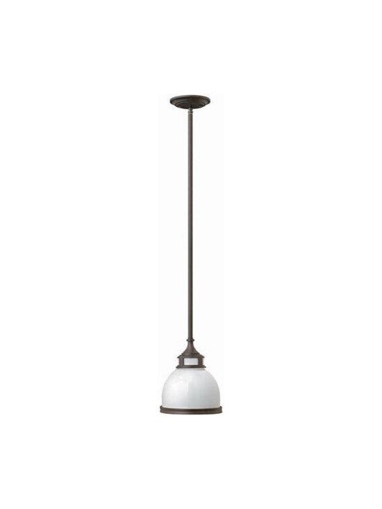 Hinkley Lighting 3102OB 1 Light Pendant Mid-Pendant Collection -