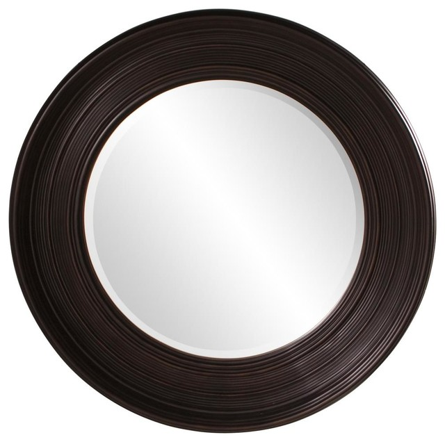 Allan wenge brown mirror contemporary mirrors by for Miroir wenge