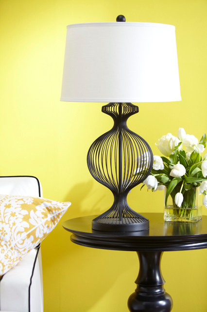 Decorating With Yellow! table-lamps