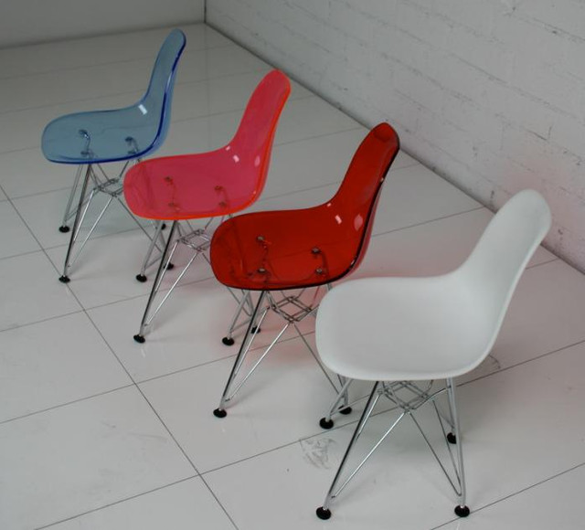 Kids Eames Style Bucket Chair Contemporary Children s