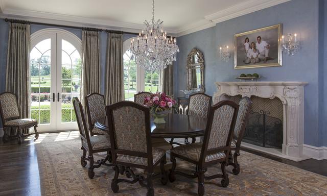 Formal Dining Room Interior Design traditional-dining-room