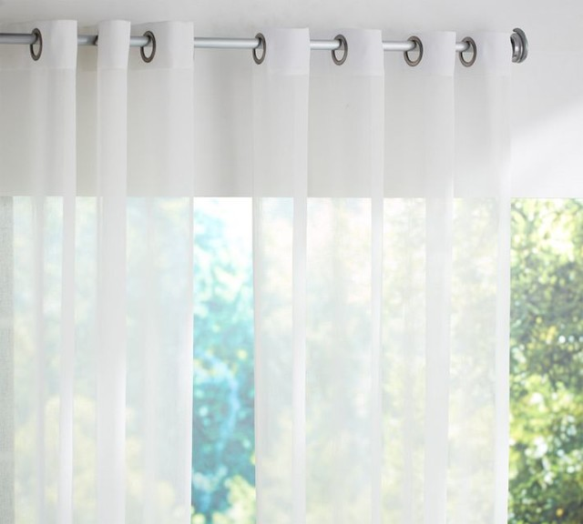 sheer white bedroom curtains. Bedroom Curtains With Grommets - Design Ideas Sheer White