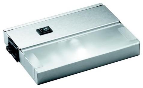 Kichler Modular 120 Volt Xenon Under Cabinet Light - Stainless Steel contemporary-kitchen-island-lighting
