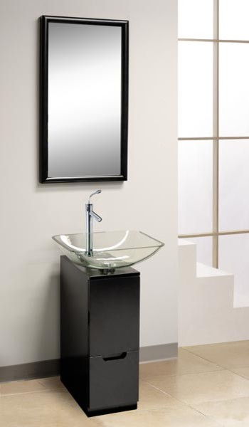 Dreamline Small Bathroom Vanity DLVG 615 Bathroom Vanities And Sink Console