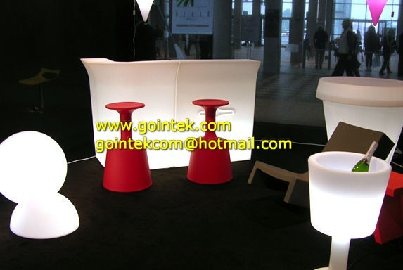 Restaurant led Bar Counter modern-side-tables-and-end-tables