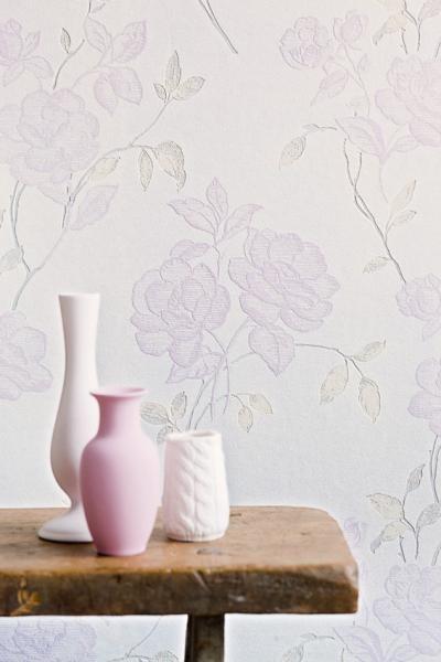 Glamorous - Playful traditional-wallpaper