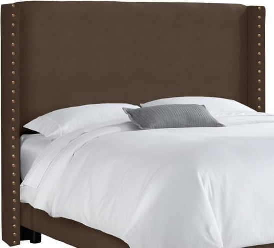 Custom Alistair Upholstered Headboard Traditional Headboards By Home Decorators Collection
