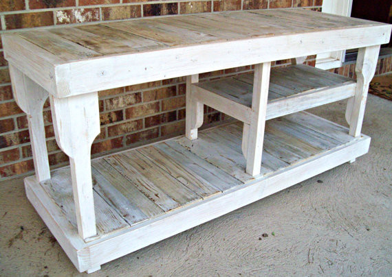 Reclaimed Fence Wood Entertainment Console by Reclaimed and Rustic contemporary-entertainment-centers-and-tv-stands