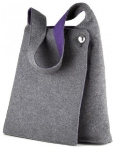 Speck A-Line Bag for iPad, Grey/Purple modern
