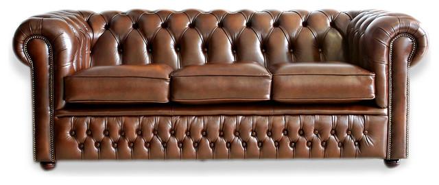 English Chesterfield Sofas traditional-sofas