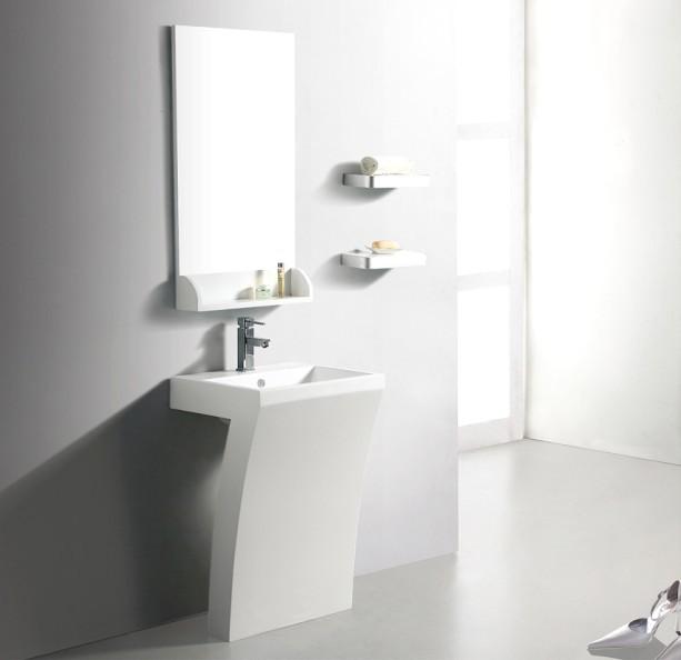 Designer Pedestal Sinks : Modern Pedestal Bathroom Sinks ? Home Design 2017