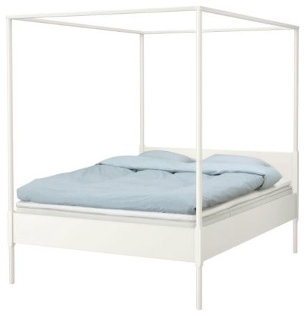 EDLAND Four-Poster Bed Frame modern-canopy-beds