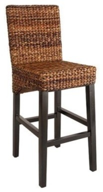 Andres Stool, Espresso - Modern - Bar Stools And Counter Stools - by Target