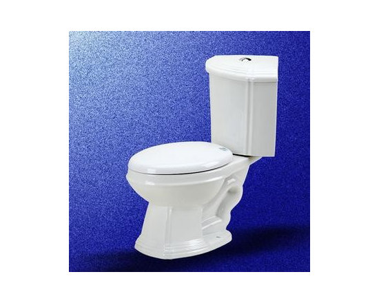 White China Corner Toilet Sheffield Dual Flush Elong - Just like our corner sink, for small bathrooms, Corner Toilet Sheffield Dual Flush Elongated is definitely an ideal choice.